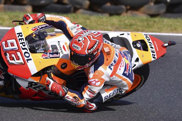 Marc Marquez vyhral Veľkú cenu Austrálie.