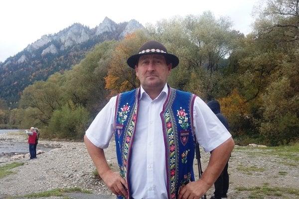 Ján Hubcej zČerveného Kláštora. Na pltiach brázdi Dunajec už tridsaťtri rokov.