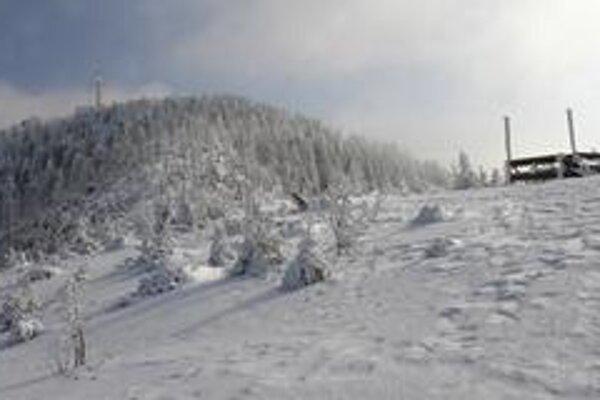 Lysá hora v Beskydoch.