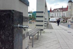 Cez nové potrubie budú vodou zásobované dva pitné automaty.