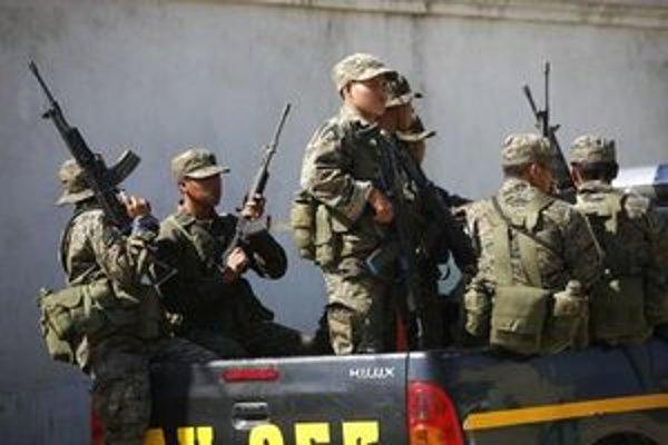 Guatemalské bezpečnostné sily.