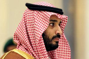 Korunný princ Mohammed bin Salman.