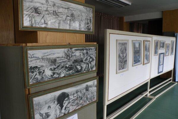 Výstava Memento prináša diela venované vojne.