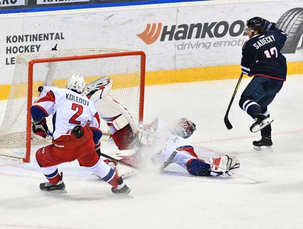 Boris Sádecký strelil najkrajší gól KHL.