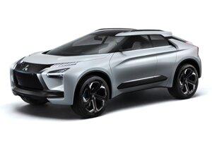 Mitsubishi e-Evolution - Elektrický crossover, ktorý by mal zaujať nadšencov. Názov, odkazujúci na legendárne Evo, ich zatiaľ skôr pohoršil.