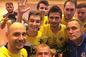 Volejbalisti VO AC UNIZA Žilina mali dôvod na úsmev.