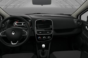 Interiér Renaulta Clio v základnej výbave 8 990 eur.
