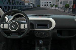 Interiér Renaulta Twingo v základnej výbave za 7 990 eur.
