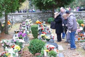 Sklabinský cintorín v Martine I.