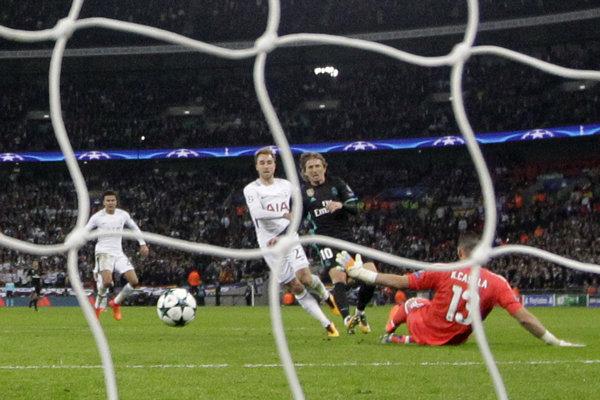 Futbalisti Realu Madrid nestačili na Tottenham.
