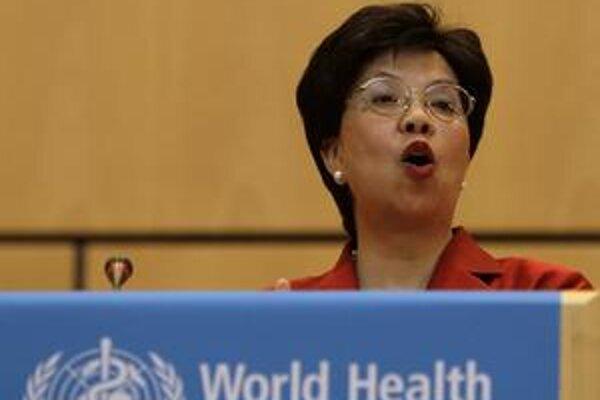 Riaditeľka WHO Margaret Chanová čelí kritike, že paniku prehnali.