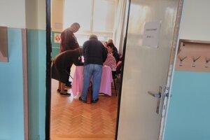 Voľby v Košeci.