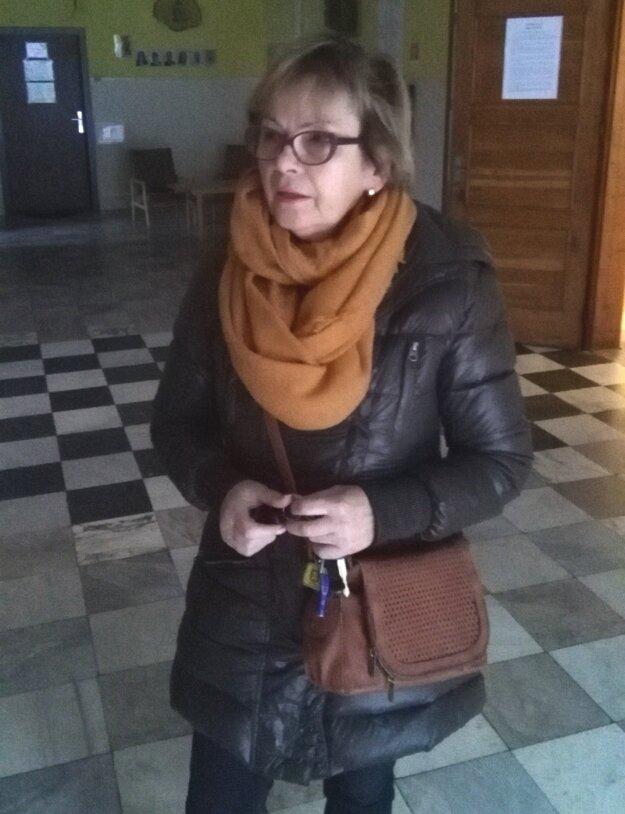 Oľga Vaváková.