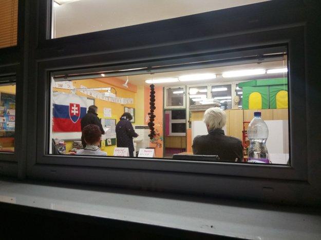 Volebný večer v Ružomberku, časť Baničné.