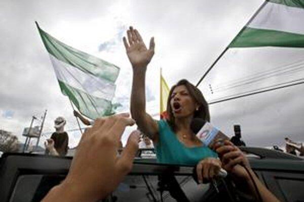 Farbou Chinchillovej kampane bola zelená.