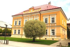 Súčasný pohľad na Mudroňovsko-halašovský dom.
