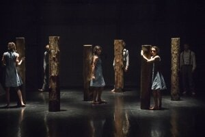 Už tanečné predstavenie Očista reflektovali zložitú situáciu tanečníkov v uplynulých štyroch rokoch.