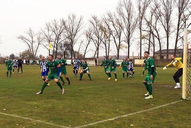 V zápase H. Saliby - Topoľníky rozhodol jediný gól.