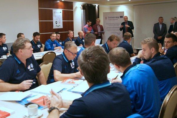 Tréneri z Poľska i Slovenska sa prvýkrát stretli v Poľsku.