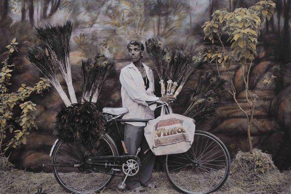 Z diela amerického fotografa Waewa a indického výtvarníka Rajesha Soniho.