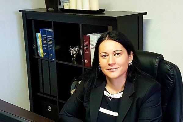 Advokátka Lucia Luptáková.