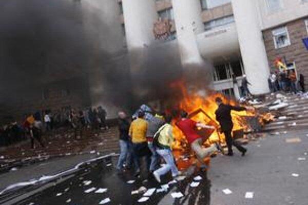 Takto to v Moldavsku vyzeralo po aprílových parlamentných voľbách.