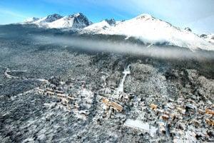Spúšť po veternej smršti v Tatrách z 19. 11. 2004.