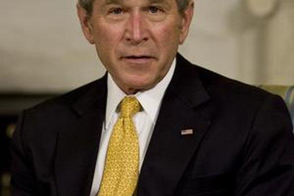 Som spokojný s pokrokom v rozkladaní teroristickej siete al–Káida. George Bush, 43. americký prezident.