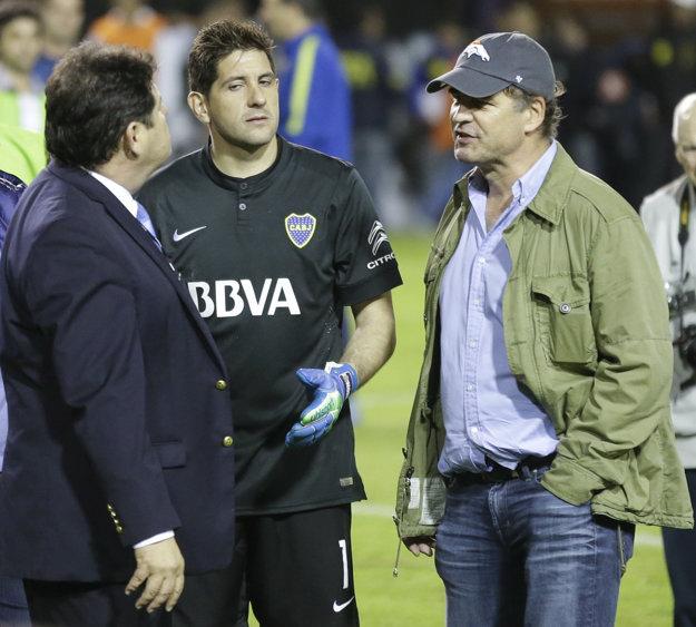 V utorok vypovedal v New Yorku bývalý výkonný riaditeľ firmy zameranej na športový marketing Torneos y Competencias Alejandro Burzaco (vpravo).