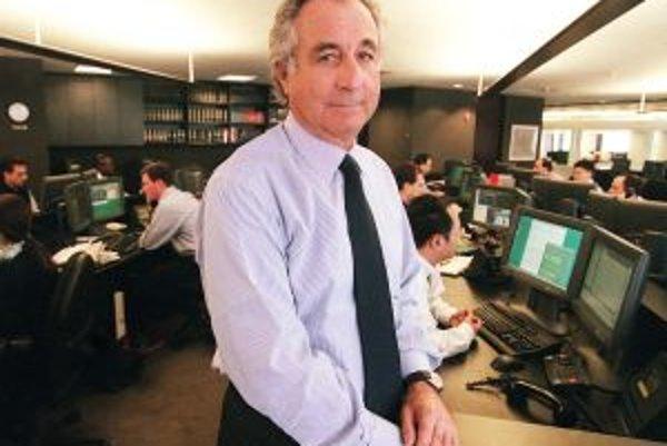 Bernard Madoff – pyramídový kráľ finančných operácií.