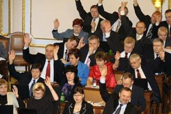 Poslanci KSČM.