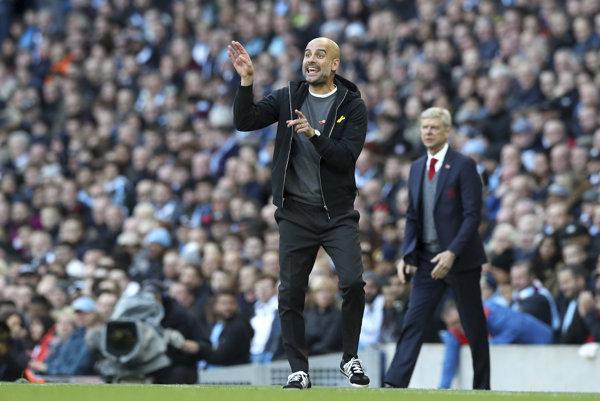 Futbalisti Manchesteru City hrajú pod vedením Pepa Guardiolu skvelú futbal.
