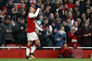 Arsenal zdolal Tottenham.