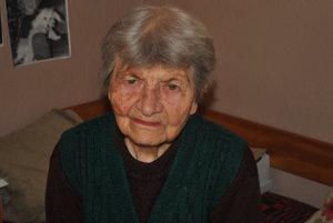 Anna Kovárová z Pôtra.