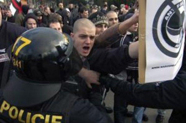 Národní korporativisti hlásajú na svojich akciách nenávisť voči všetkému nečeskému a nenárodnému. Sú známi tiež popieraním holokaustu či protestmi proti užívaniu drog. Národný korporativizmus vznikol v roku 2004 a má zhruba 200 členov po celej republike.
