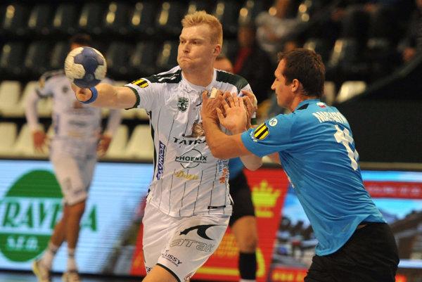 Dnes proti ŠKP. Tatran hrá dnes doma. Na snímke Michal Kasal.