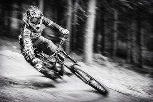 Šport a športové aktivity - 1. miesto: Michal Kravec – Downhill