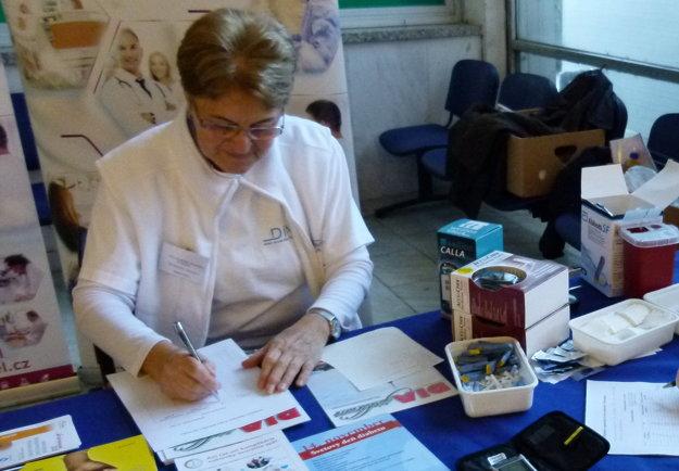 Magdaléna Kunyová je predsedníčkou Základnej organizácie Zväzu diabetikov Slovenska v Leviciach.