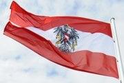 Vlajka Rakúska.