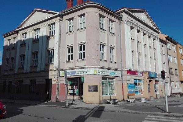 Budova bývalej advokátskej komory v Martine.