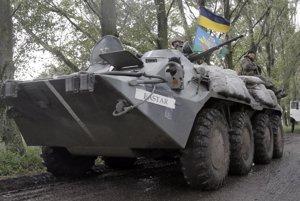 Ukrajinská armáda smeruje do Slovianska.