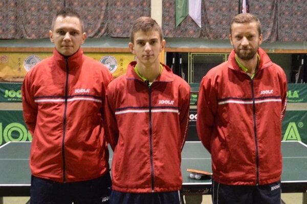 Zľava: Radoslav Blažek, Radovan Cyprich a Pavel Petráš.