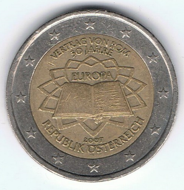 Pamätná dvojeurová minca (Rakúsko)