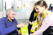 V centre sociálnych služieb tiež podporili dobrú vec.
