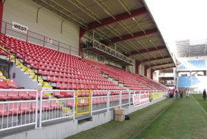 Nový štadión.