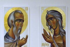 Súčasná srbská ikona. Pochádza z tvorby Anastasie Čirak.