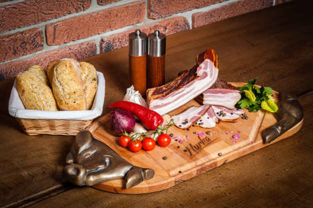 Gazdovská slanina.