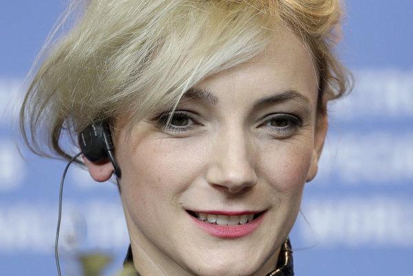 Alexandra Borbély na festivale Berlinale.