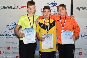 Alex Kožuškanič prvý zľava. FOTO: (PF)