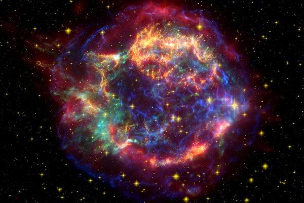 Supernova Cassiopeia A.